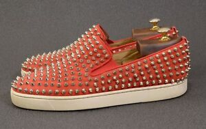 Christian LOUBOUTIN Roller Boat Flat Loafer shoes UK8.5 /US9.5/ EU42.5 Sneakers