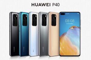 """Huawei P40 5G ANA-NX9 GLOBAL Dual SIM 8/128GB 6.1"""" Kirin 990 IP53 Phone By FedEx"""