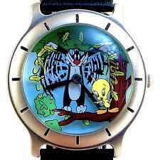 Tweety Bird Sylvester The Cat, Fossil's Warner Bros. Collectible Watch! Just $89