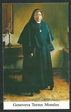 Estampa antigua de la Hermana Genoveva andachtsbild santino holy card santini