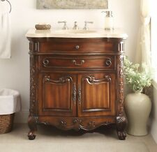 "36"" Classic Style Madison Bathroom Sink Vanity Cabinet S01M36"