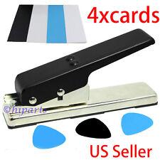 Premium DIY Guitar Pick Punch Maker Plectrum Card Cutter Tool Cutter Strip
