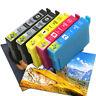 5x Kompatibel Tinten Patronen EA-502XL für Epson WorkForce WF-2860DWF WF-2865DWF