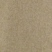 Abraham Moon Earth Beige   100% Wool Plain Upholstery Fabric   In Stock