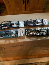 Foster Grant Posh Coloread Women's Reading Glasses New +1.75 Lot Of 4 Nice