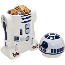 Star Wars R2 D2 Céramique Pot À Biscuits avec Joint en Silicone