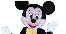 Halloween Mickey Mouse Mascot Costume Dress Cartoon Character (Only Head) Unique