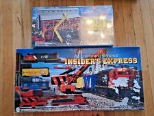 President's Choice Train Set #4  CN SD35 TRAIN SET INSIDER'S EXPRESS CN RARE +++