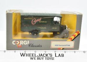 1929 Thornycroft Van Die-Cast Vehicle Vintage 1985 Corgi Classics Toys