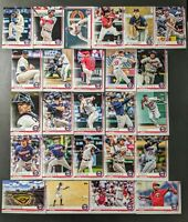 2019 Topps Series 1 & 2 MINNESOTA TWINS Complete Team Set (28) Wholesale