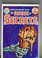 """vintage DC comic """" The HOUSE of SECRETS # 123 """" bagged & boarded"""