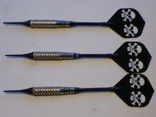 "Soft Tip Darts Used, 14 Gram 1/4"" Plated, New Aluminum Shafts & Flights #1567"