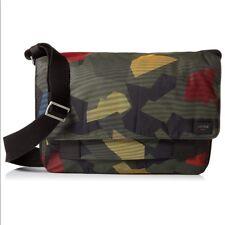a80a04c27551 Jack Spade Kaleidoscope Zip Messenger Camouflage Camo Nylon Twill NYRU2704