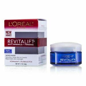 LOreal Paris Skin Care Revitalift Anti Wrinkle and Firming Night Cream 1.7 oz 2