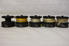 Lot of 5 GARCIA 964 SPOOLS + CARDINAL High-Speed Fishing Line (Yellow/Clear)