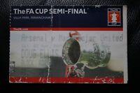 Arsenal v Man Utd 2004 FA Cup Semi-Final Ticket