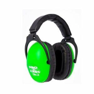 Pro Ears - ReVO NRR 25 - Youth and Women Ear Muffs - Neon Green