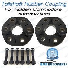 2 Tailshaft Rubber Couplings Doughnut For Holden Commodore VX VY VZ VT V6 AUTO