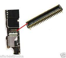 CONNETTORE FPC SCHEDA MADRE per plug flat flex dock ricarica PER Iphone 4S 4 S