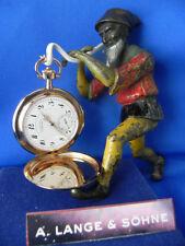 Rotgold Taschenuhren mit 12-Stunden-Zifferblatt