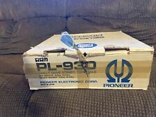 Pioneer PL-930 Vintage Direct Drive Turntable New Old Stock!
