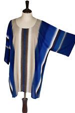4X 5X 6X 7X Short Sleeve Soft Cotto Caftan Plus Kaftan Shirt Top Tunic P2200-2-S