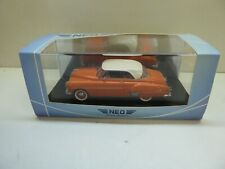 1/43 NEO SCALE MODELS CHEVROLET STYLELINE DE LUXE COUPE TOP !