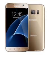 "Débloqué sim Téléphone 5.1""Samsung Galaxy S7 32GB G930A AT&T LTE GPS NFC - Or"