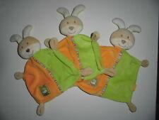 3 Stück    Hase Babydream   Schmusetuch    Schnuffeltuch