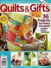 2008 Better Homes & Gardens Quilts & Gifts Magazine Creative Collection #Q87