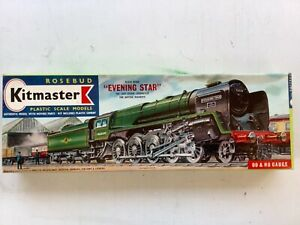 Rosebud Kitmaster No.22 BR 2-10-0 9F Evening Star  Kit complete and unbuilt