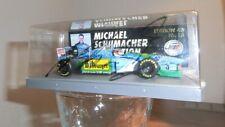 Modell 1:43, Michael Schumacher mit Autogramm - Benetton B 194- Formel 1 - 1994