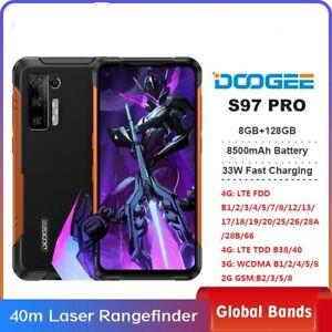 "6.39"" DOOGEE S97 Pro 8GB+128GB Rugged SmartPhone 8500mAh 40m Laser Rangefinder"
