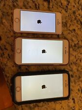 iPhone bundle/ lot: Se model , and two S model all in Rose gold 16Gb Att