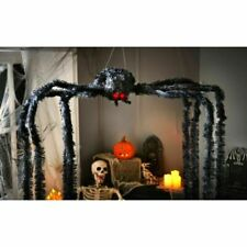 BNIB HALLOWEEN PARTY Animated Light Up Sound 2 METRE GIANT Scary Black Spider