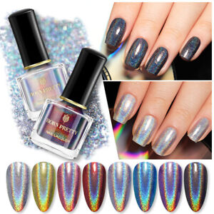 BORN PRETTY Holographicssss Nail Polish Laser Glitter Varnish 6ml Nail Art Decor