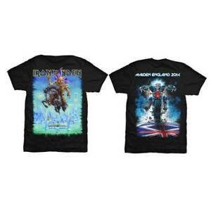 IRON MAIDEN Tour Trooper 2014 Maiden England T-SHIRT New OFFICIAL Unisex