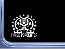"Three Percenter Molon Labe sticker *H068* 6"" vinyl Assault life threeper marine"