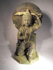 AQUARIUM ORNAMENT , BUDDHA WARRIOR  ORIENTAL FISH TANK  AQUARIUM DECORATION