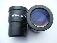 1 PC Stereo Microscope Eyepiece WF10X Wide Field High Eyepoint Relief 30 30.5mm