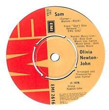 "Olivia Newton-John - Sam - 7"" Vinyl Record Single"