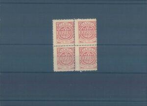 SAMOA 1877 Express 2 pence block unissued - color error MNG