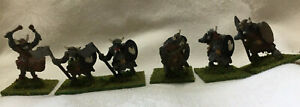 Lot Of 6 Heritage LOTR Orcs As Is Painted