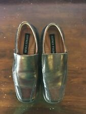 Jeffrey Tyler Men's Brown Leather Loafer Casual Dress Shoes Size 7M  JNY
