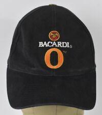 Black Bacardi O Orange Co Logo Embroidered Baseball Hat Cap Adjustable