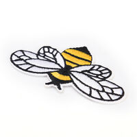 Bumble Bee Sew On Patch Embroidered Badges Bags Applique Fabric Clothes CrafATA