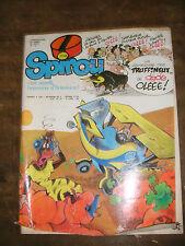 Spirou N° 2128 1979 Schtroumpf Gaston BD  Jacques Le Gall avec Bricolage maison