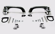 NEW! 1964-1966 Mustang Outside Door Handles Pads Hardware Chrome Brand New