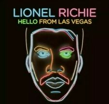 LIONEL RICHIE * HELLO FROM LAS VEGAS, NEW CD, CONFIRMED 1-DAY SHIP