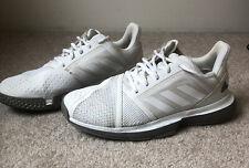 Womens Adidas Court Jam White Silver Tennis Shoes 7.5